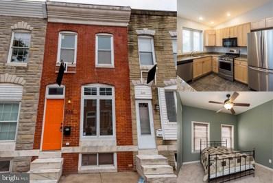 328 Bouldin Street, Baltimore, MD 21224 - MLS#: 1003768699