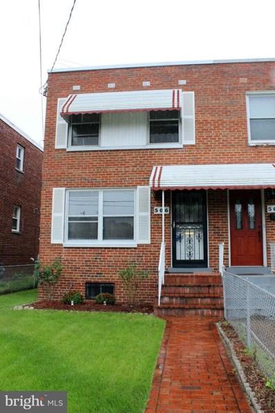 506 Oglethorpe Street NE, Washington, DC 20011 - #: 1003797504
