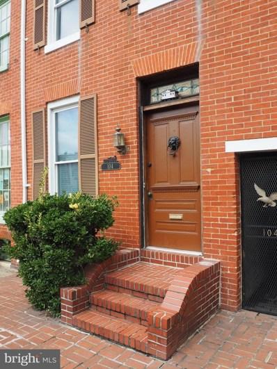 104 Warren Avenue, Baltimore, MD 21230 - #: 1003797676