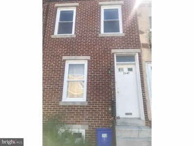2547 Tulip Street, Philadelphia, PA 19125 - MLS#: 1003800962
