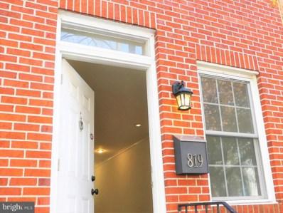 819 Woodward Street, Baltimore, MD 21230 - MLS#: 1003870101