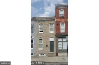 503 Patterson Park Avenue, Baltimore, MD 21205 - MLS#: 1003973869