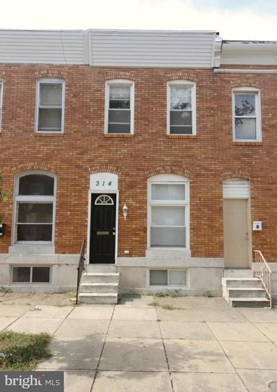 314 S Macon Street, Baltimore, MD 21224 - MLS#: 1004009727