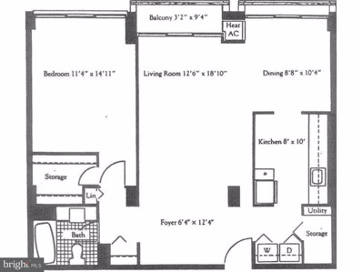 1326 Spruce Street UNIT 506, Philadelphia, PA 19107 - MLS#: 1004073775