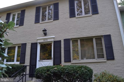9890 Hollow Glen Place UNIT 2540, Silver Spring, MD 20910 - MLS#: 1004105245