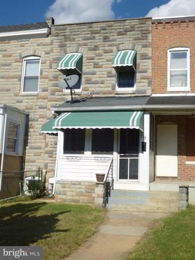 518 Maude Avenue, Baltimore, MD 21225 - MLS#: 1004108667