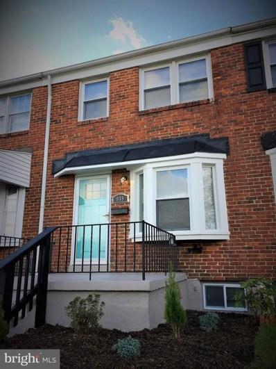 849 Arncliffe Road, Baltimore, MD 21221 - MLS#: 1004116355