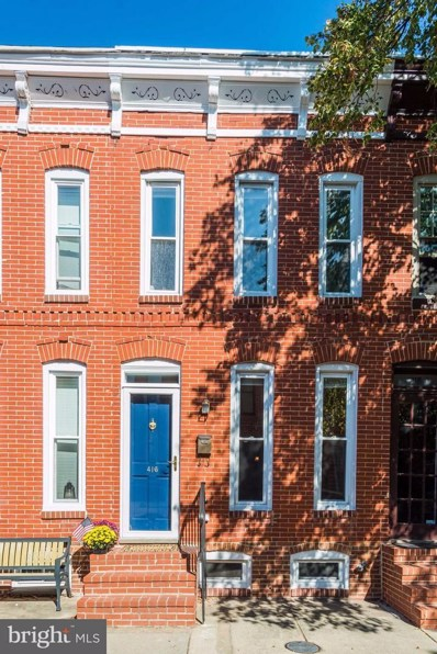 416 Folsom Street, Baltimore, MD 21230 - MLS#: 1004118815