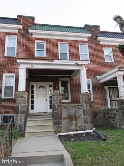 733 Argonne Drive, Baltimore, MD 21218 - MLS#: 1004125347