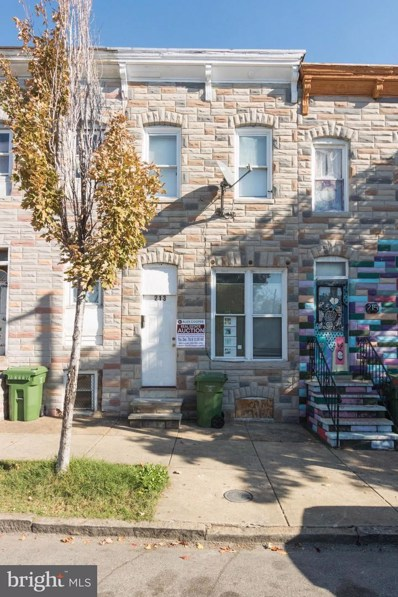 213 Monroe Street S, Baltimore, MD 21223 - MLS#: 1004129437