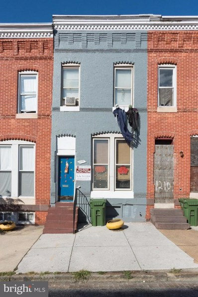 1212 Mosher Street W, Baltimore, MD 21217 - MLS#: 1004129443