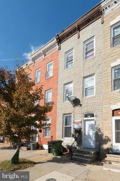 1104 Lombard Street W, Baltimore, MD 21223 - MLS#: 1004129469