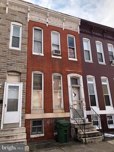 1011 Fayette Street W, Baltimore, MD 21223 - MLS#: 1004132341
