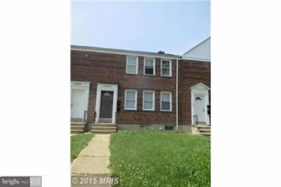 5542 Midwood Avenue, Baltimore, MD 21212 - MLS#: 1004147747