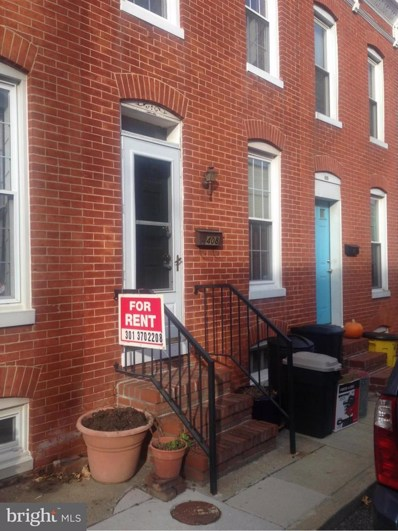 408 Sanders Street, Baltimore, MD 21230 - MLS#: 1004159151