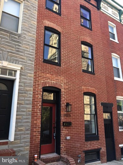 1915 Lombard Street E, Baltimore, MD 21231 - MLS#: 1004174628