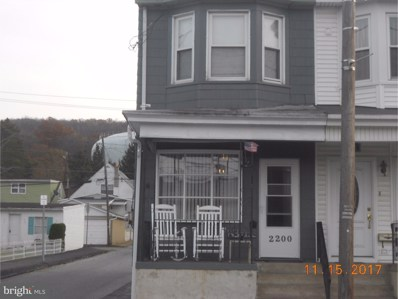 2200 Centre Street, Ashland, PA 17921 - MLS#: 1004175243