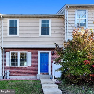 871 Clover Leaf Court, Edgewood, MD 21040 - MLS#: 1004211457