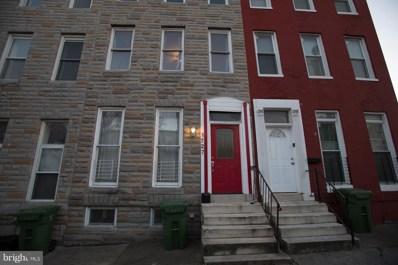 1727 Lombard Street W, Baltimore, MD 21223 - #: 1004225473