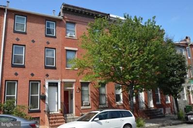 832 Lombard Street W, Baltimore, MD 21201 - MLS#: 1004229313