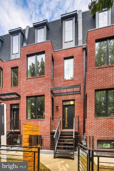 523 Longfellow Street NW UNIT 1, Washington, DC 20011 - MLS#: 1004235259