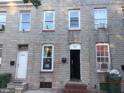 328 Gilmor Street S, Baltimore, MD 21223 - MLS#: 1004235419