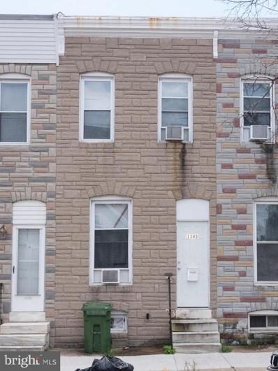 1345 James Street, Baltimore, MD 21223 - #: 1004248154