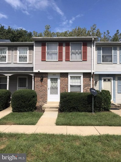 1640 Thenia Place, Woodbridge, VA 22192 - MLS#: 1004251400