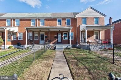3539 McShane Way, Baltimore, MD 21222 - MLS#: 1004256017