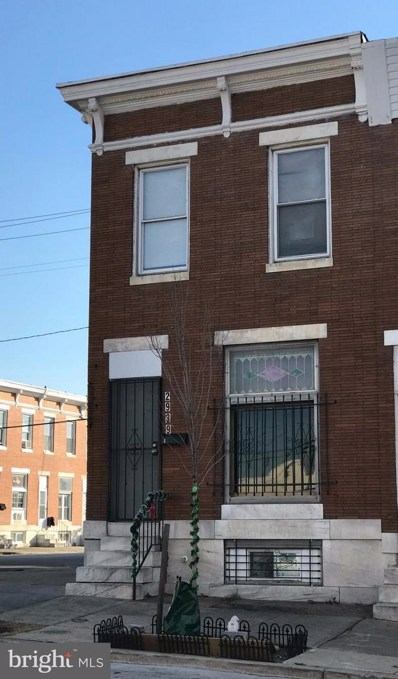 2939 Monument Street E, Baltimore, MD 21205 - MLS#: 1004260169