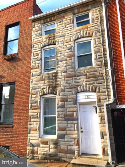 316 S Regester Street, Baltimore, MD 21231 - MLS#: 1004269875