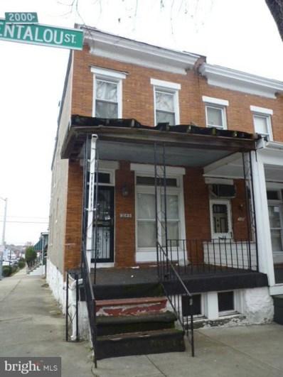 2045 Bentalou Street N, Baltimore, MD 21216 - MLS#: 1004269885