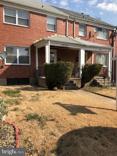 1712 Ingram Road, Baltimore, MD 21239 - MLS#: 1004277725