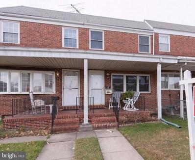 844 Jeannette Avenue, Baltimore, MD 21222 - MLS#: 1004284645