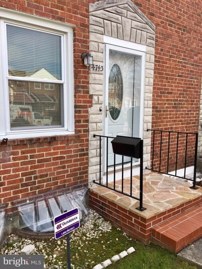 4743 Homesdale Avenue, Baltimore, MD 21206 - MLS#: 1004293969