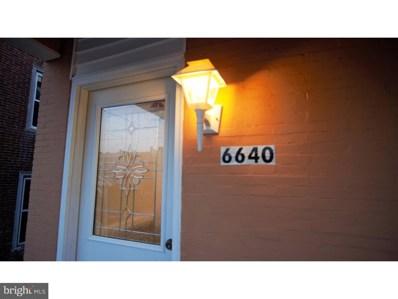 6640 Musgrave Street, Philadelphia, PA 19119 - MLS#: 1004295467