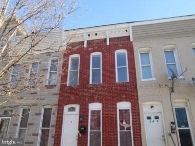 347 Stricker Street, Baltimore, MD 21223 - MLS#: 1004302501