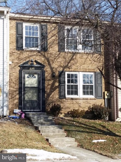 239 Canfield Terrace, Frederick, MD 21702 - MLS#: 1004314451