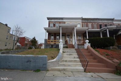 1737 Ashburton Street, Baltimore, MD 21216 - MLS#: 1004327379