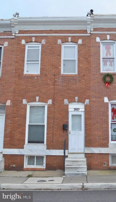 2427 Christian Street, Baltimore, MD 21223 - MLS#: 1004342777
