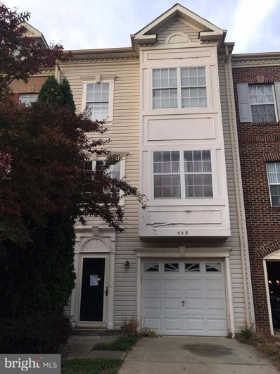 508 Crusher Court, Upper Marlboro, MD 20774 - MLS#: 1004364073