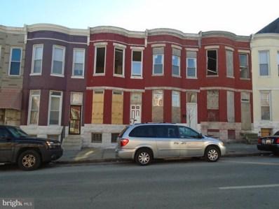 1843 Fayette Street W, Baltimore, MD 21223 - MLS#: 1004365241