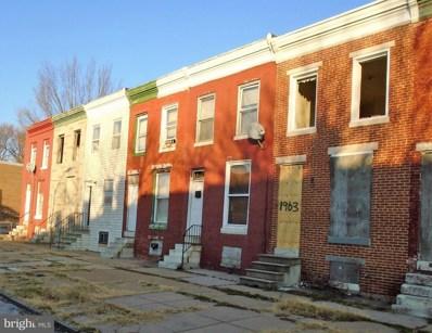 1965 Collington Avenue N, Baltimore, MD 21213 - MLS#: 1004365257