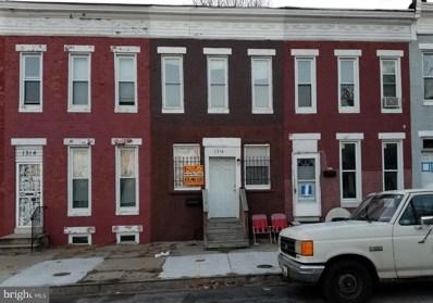 1316 Poplar Grove Street, Baltimore, MD 21216 - MLS#: 1004389955