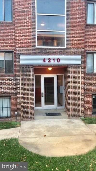 4210 Benning Road NE UNIT 4, Washington, DC 20019 - MLS#: 1004404465