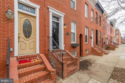 1529 Charles Street, Baltimore, MD 21230 - MLS#: 1004463231