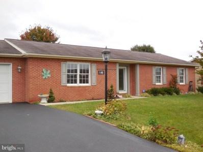 140 Plantation Drive, Hagerstown, MD 21740 - MLS#: 1004467661