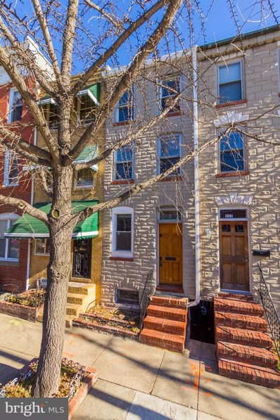 115 Wolfe Street S, Baltimore, MD 21231 - #: 1004486171