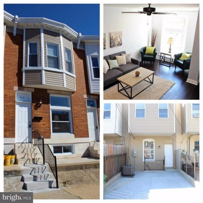 513 Macon Street, Baltimore, MD 21224 - MLS#: 1004652435
