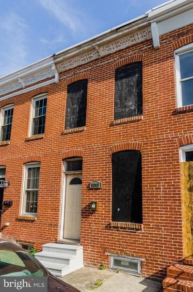 1243 Sargeant Street, Baltimore, MD 21223 - MLS#: 1004932041